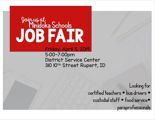 Minidoka Schools Job Fair