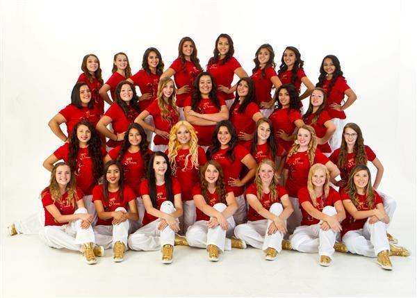 Picture of our Spartan Dance Force team