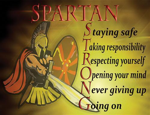 Spartan Strong Motto